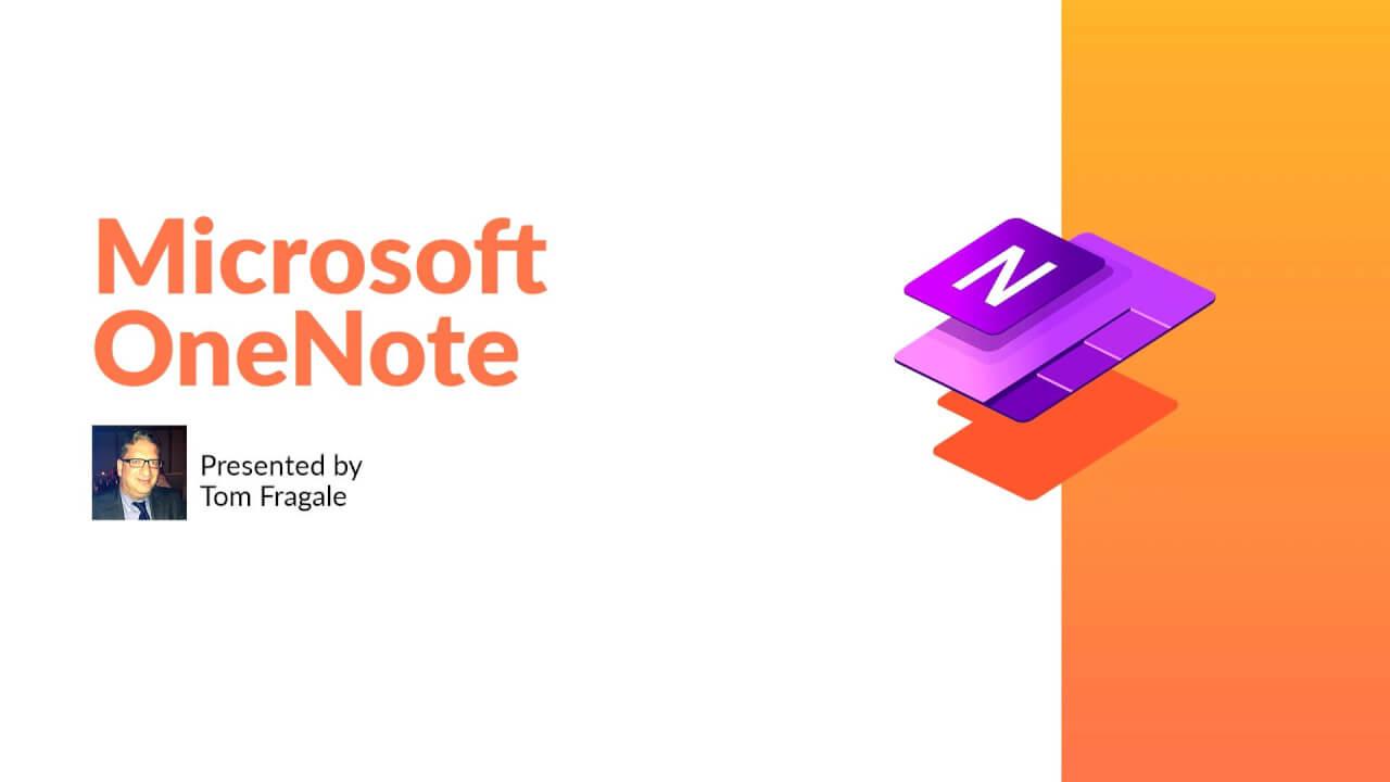 Microsoft OneNote Training