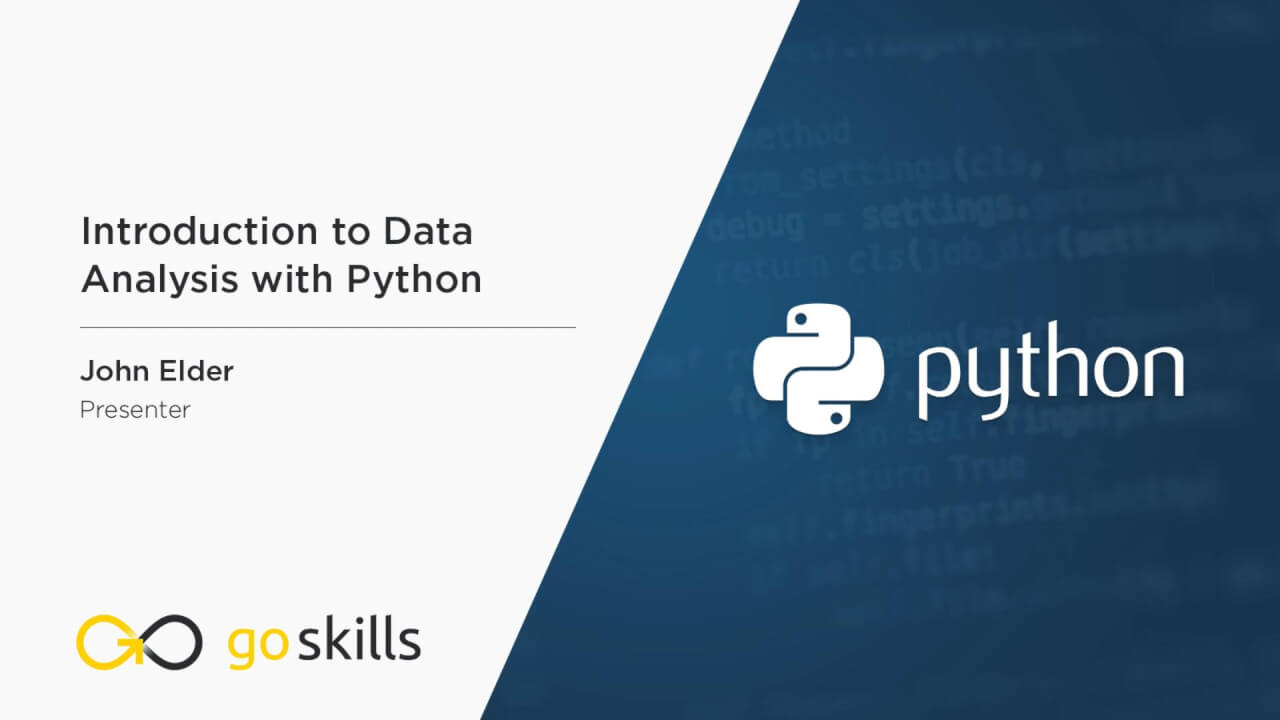 Introduction to Data Analysis with Python