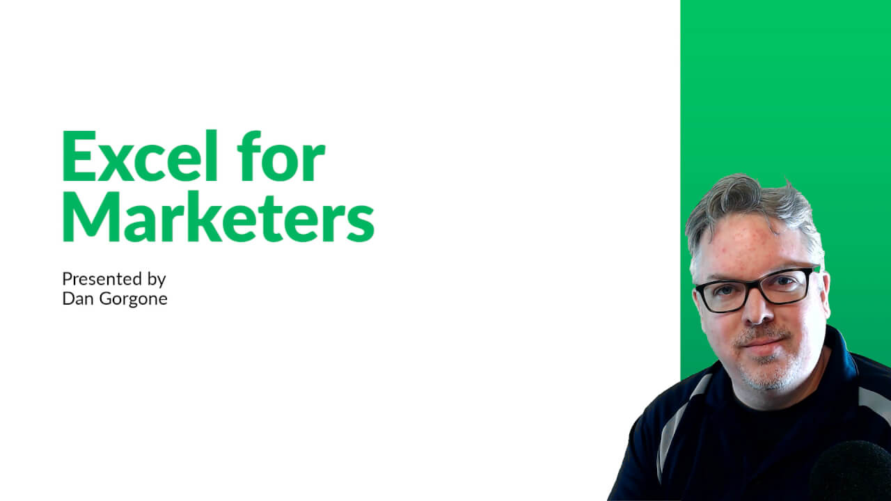 Excel for Marketers