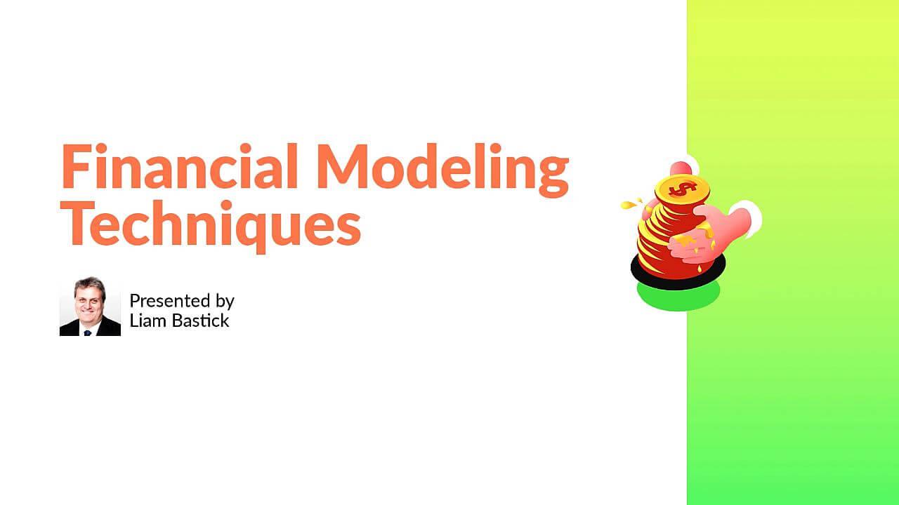 Financial Modeling Techniques