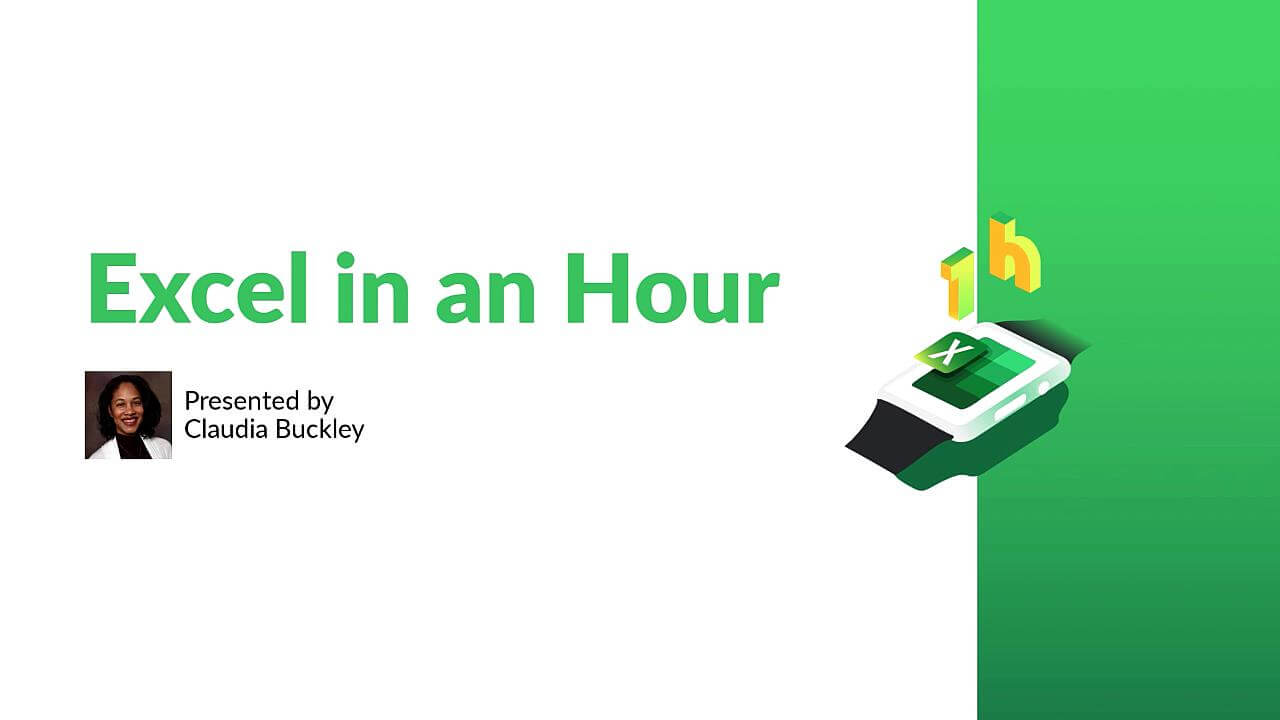 Excel in an Hour