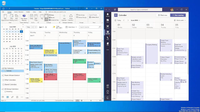Working with Teams in Outlook